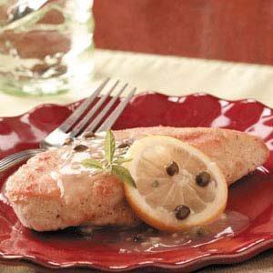 Lemony Chicken Piccata
