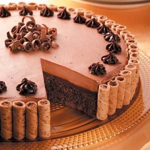 Makeover Chocolate Truffle Dessert