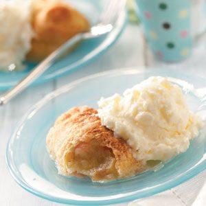 Crescent Apple Dumplings