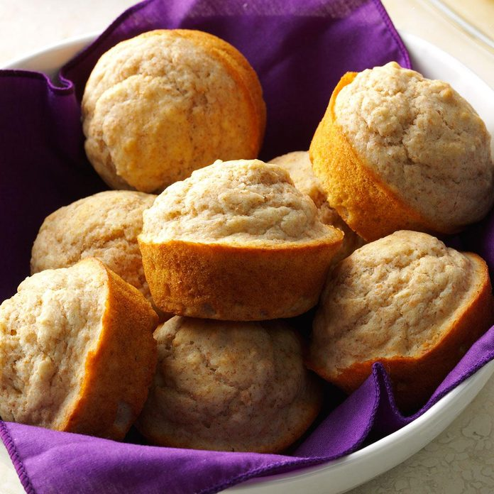 Tender Whole Wheat Muffins