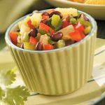Bean and Pineapple Salsa