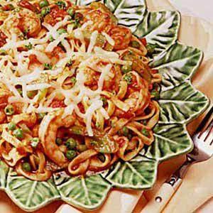 Shrimp and Pasta Supper