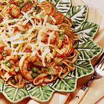 Shrimp and Pasta Supper