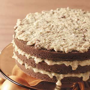 Makeover German Sweet Chocolate Cake