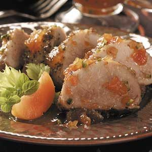 Jalapeno-Apricot Pork Tenderloin