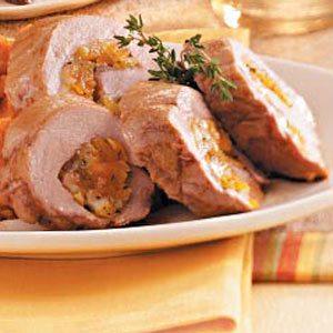 Apricot-Stuffed Pork Tenderloin