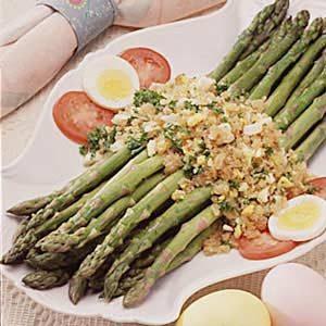 Asparagus Polonaise