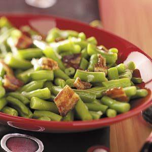 Green Beans in Beer Sauce