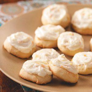 Soft Orange Marmalade Cookies