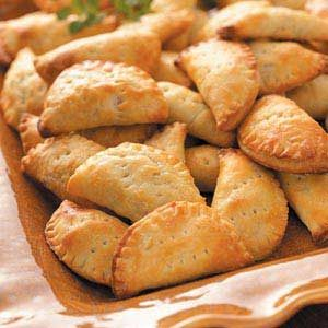 Sour Cream and Beef Turnovers