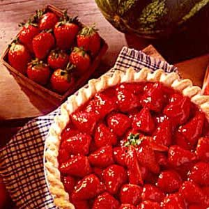 Remembrance Strawberry Pie
