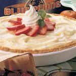 Cheesecake Strawberry Pie