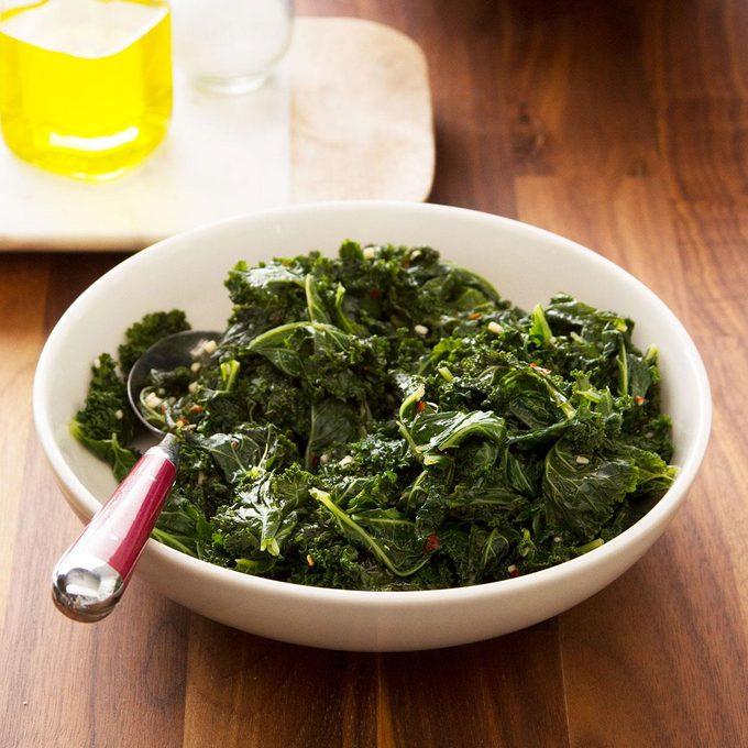 Steamed Kale