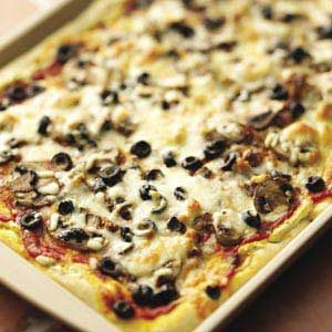 Pesto Sausage Pizza Makeover