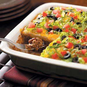 Southwestern Taco Casserole