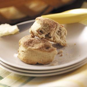 Maple Cinnamon Biscuits