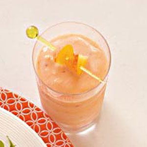Peachy Strawberry Smoothie