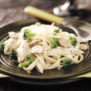 Chicken Broccoli Fettuccine