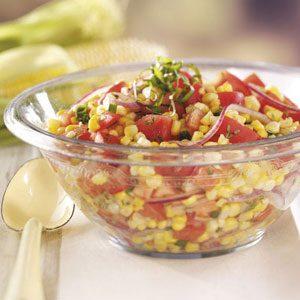 Contest-Winning Tomato Corn Salad
