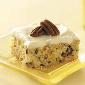 Makeover Pineapple Nut Cake