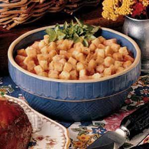 Tomato Crouton Casserole