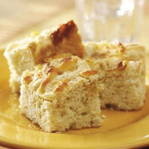Smoky Onion Biscuit Squares
