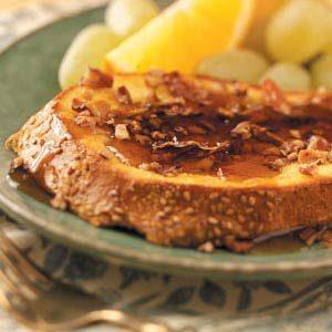 Pecan Orange French Toast