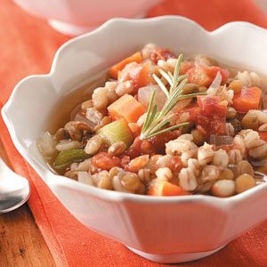 Homemade Lentil Barley Stew