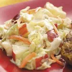 Crunchy Fruit Coleslaw