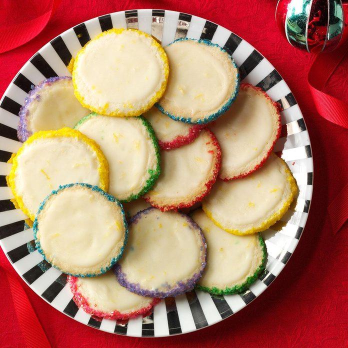 Slice 'n' Bake Lemon Gems