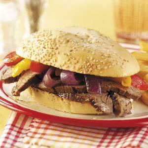 Flank Steak Sandwiches