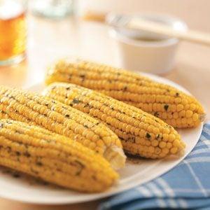 Tarragon Corn on the Cob
