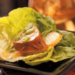 Pork 'n' Pear Lettuce Wraps