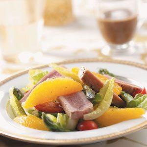 Tuna Salad with Basil Dressing