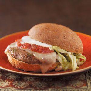"""Little Kick"" Jalapeno Burgers"