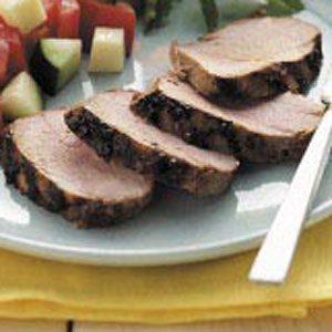 Easy Grilled Pork Tenderloin