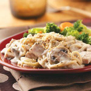 Turkey Mushroom Casserole