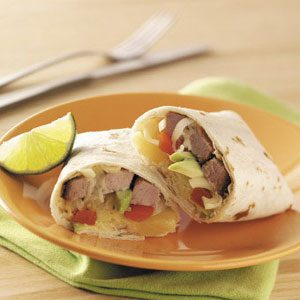 Pork 'n' Pineapple Fajitas