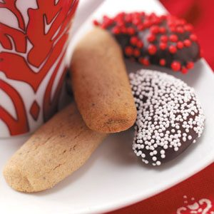 Chocolate-Coated Candy Canes