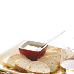 Baguette with Dipping Sauce