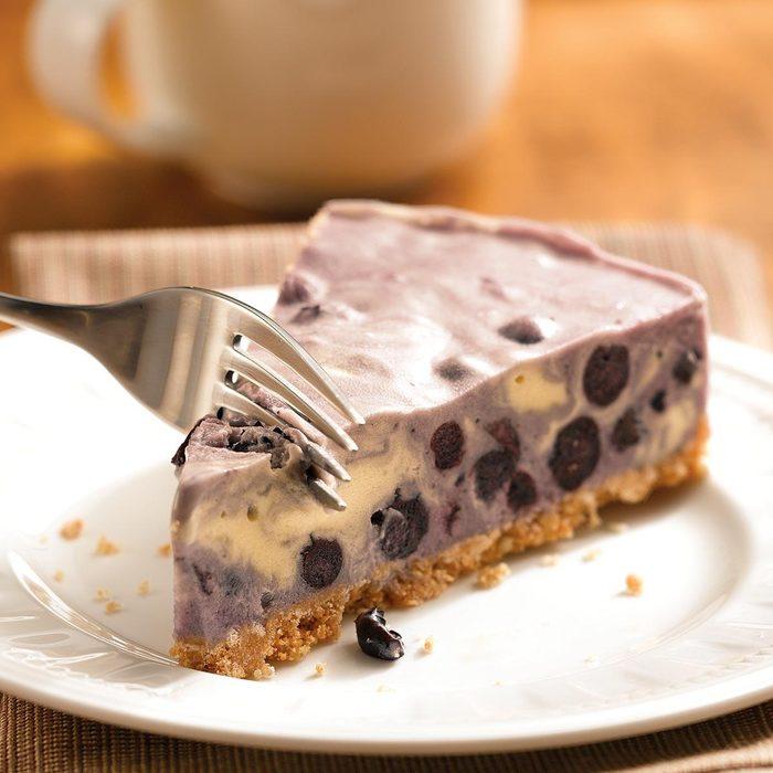 Blueberry Ice Cream Tart