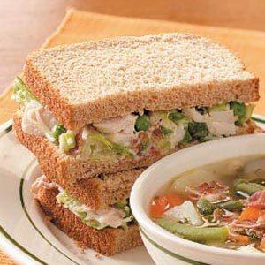 Turkey Salad Sandwiches