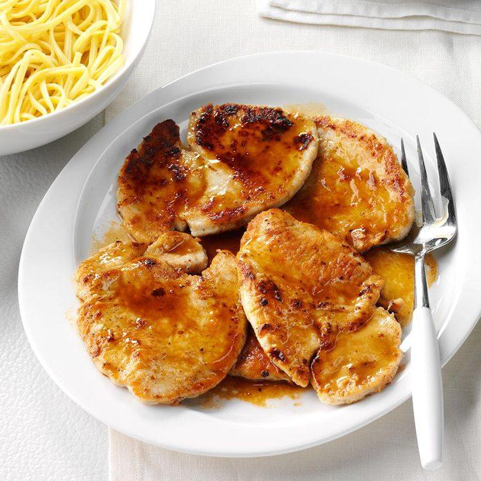 September: Turkey Scallopini with Marsala Sauce