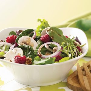 Summer Salad with Lemon Vinaigrette