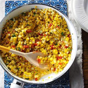 Southwestern Sauteed Corn
