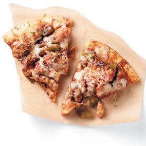 Cheesy Chicken Fajita Pizza