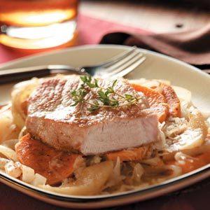 Slow Cooker Pork Chop Supper