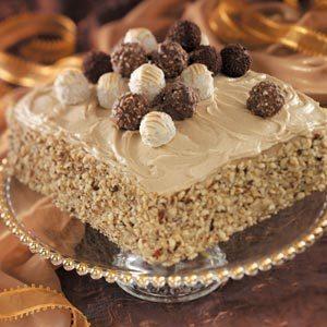 Truffle-Topped Cake