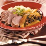 Pork with Curried Apple & Couscous