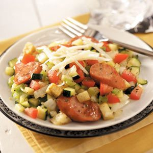 Ratatouille Sausage Saute